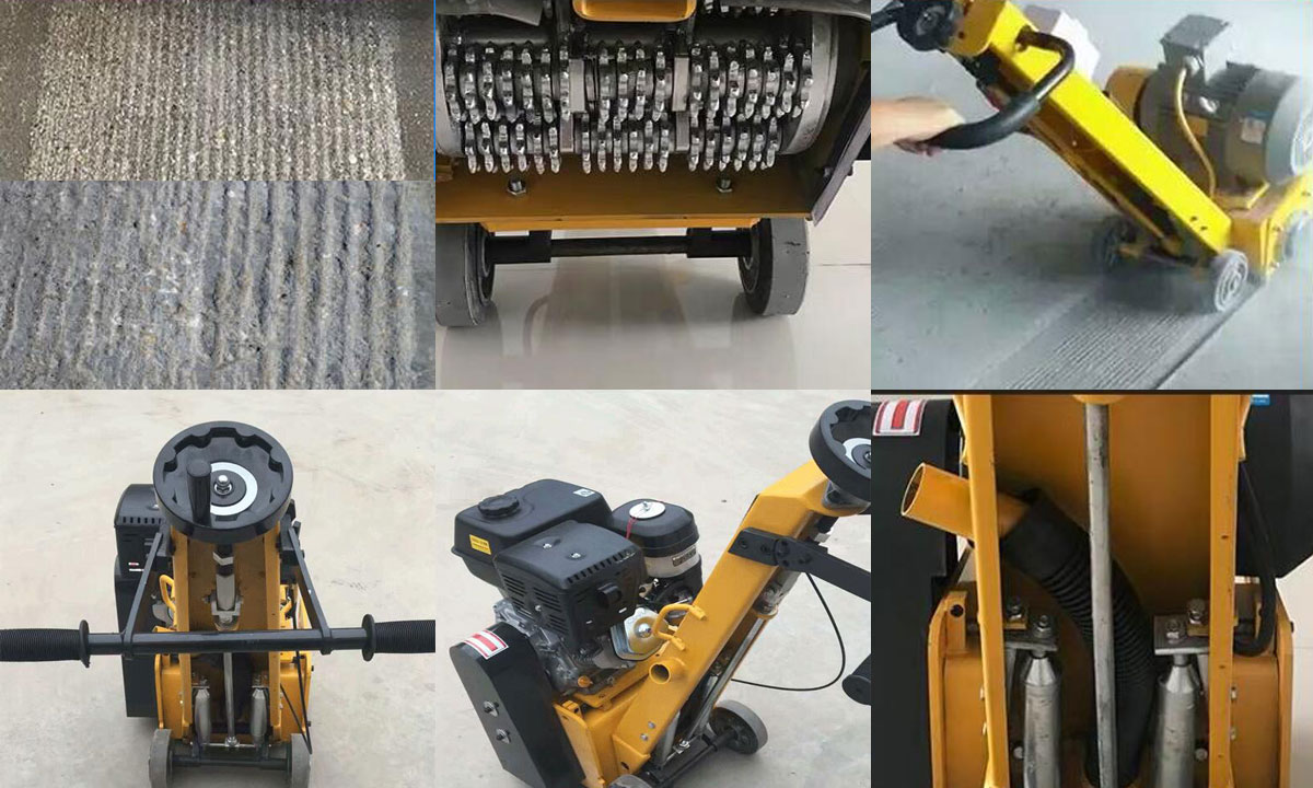 concrete scarifier machine