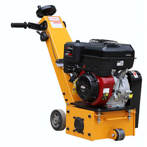 Concrete floor scarifier machine