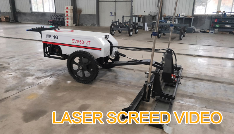 LASER SCREED VIDEO