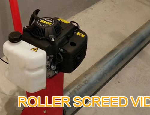 Concrete Roller Screed Video