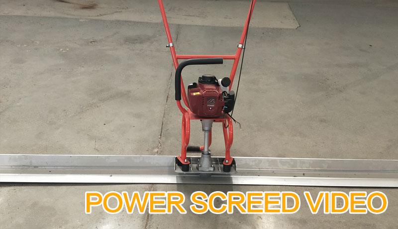 POWER SCREED